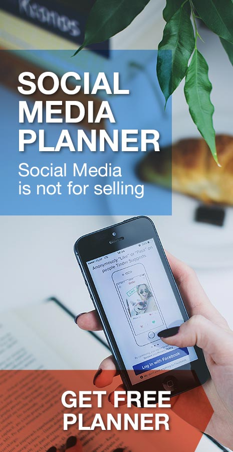 Bron Watson Free Resource - Social Media Planner